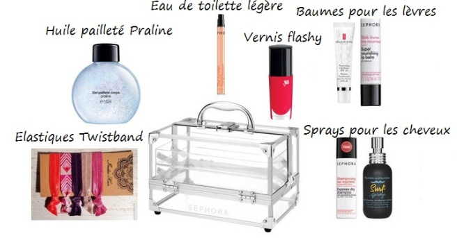 indispensable trousse de toilette