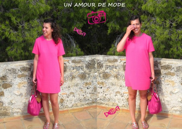 chateau denia robe rose bonbon