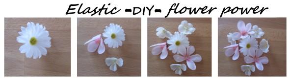 headband diy fleurs