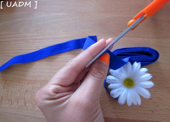 un amour de mode headband twistband fleurs.couper