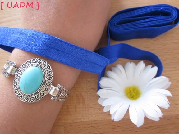 un amour de mode headband twistband fleurs.elastique