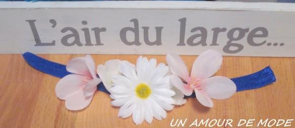 un amour de mode headband twistband fleurs